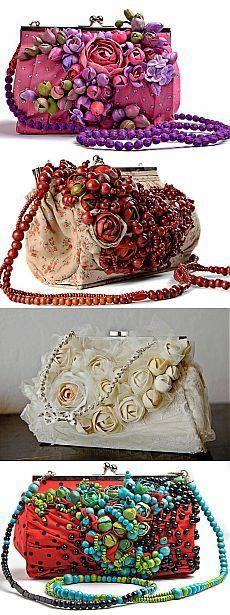 Цветочные сумочки Nerve Tonic (трафик) / Сумки, клатчи, чемоданы /