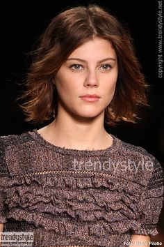 Kapsel trend: halflang haar voor 2013