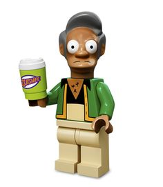 The perfect set for fans of LEGO brick building and The Simpsons! Includes Apu minifig, with Squishee Cup piece! GREAT addition to the LEGO Simpsons 71006 The Simpsons House set… Homer Simpson, Lisa Simpson, Lego Simpsons, Minifigura Lego, Buy Lego, Lego Moc, Lego City, Lego Star Wars Clone, Childhood