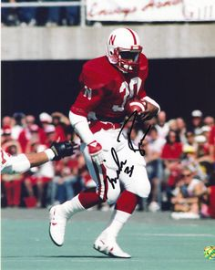 Mike Rozier Nebraska Huskers signed 8 X 10 autographed card Houston Oilers Baseball Playoffs, College Football Players, Football Helmets, Nebraska Cornhuskers Football, Nebraska Football, Basketball Pictures, Buy Basketball, Houston Oilers, Gyms Near Me