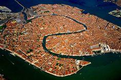 Венеция с высоты птичьего полёта (кликабельно) ... | Alex Log - Posting Stuff & Thoughts