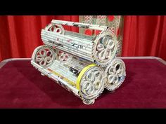 How to make a newspaper rack / holder, desk Cosmetic Bangle Organizer..Best out of waste | Newspaper - YouTube