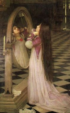 Waterhouse - It took me yrs to realize she was on her knees