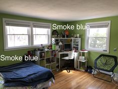 Home Projects, Smoke, Blue, Smoking, House Projects, Acting