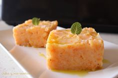 Puré de patatas y zanahoria para guarnición