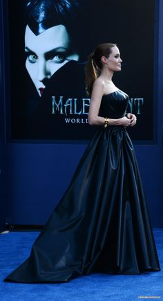 Angelina Jolie, Brad Pitt - World Premiere Of Disney's 'Maleficent' at the El Capitan Theatre in Hollywood, California - May 28, 2014