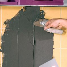 The credence of your tile kitchen is exceeded? The walls of your sal . - Décoration et Bricolage