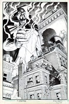 Tales of the Unexpected featuring The Spectre #7 Cover by Arthur (Art) Adams - W.B.