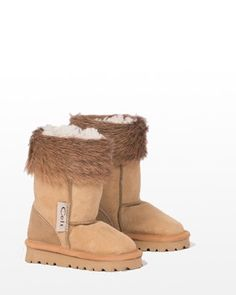 Kids Sheepskin Boots | Buy Now From Celtic & Co