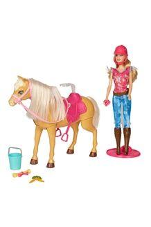 Barbie et son cheval Tawny<BR> Dès 3 ans