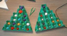 Christmas Pumpkins - # Christmas Pumpkins - # Clemmie Egg Carton - Lifestyle and Outfit ideas Christmas Pumpkins, Christmas Tree Themes, Christmas Games, All Things Christmas, Kids Christmas, Christmas Crafts, Christmas Activities For Toddlers, Preschool Christmas, Toddler Christmas