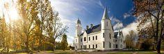 Alatskivi Castle on the Onion Route. Southern Estonia Estonia #colourfulestonia #visitestonia