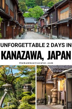 Kanazawa Itinerary: 2 Days in the City of Samurais - The Bamboo Traveler Kanazawa Itinerary: 2 Days in the City of Samurais - The Bamboo Traveler - Find out how to see Kanazawa Japan in 2 days Japan Travel Guide, Asia Travel, Solo Travel, Travel Guides, Beaches In The World, Places Around The World, Around The Worlds, Places To Travel, Travel Destinations