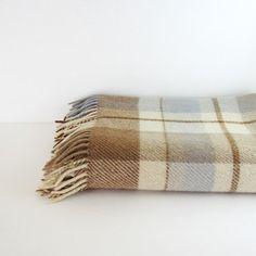 Vintage Plaid Blanket // LastCentury