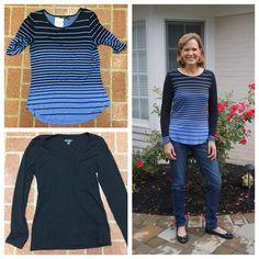 Stripes and Solids !  Sewing/Repurpose/DIY/Handmade