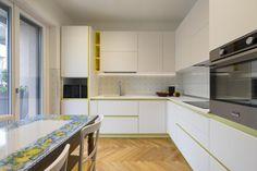 ristrutturazione-cucina-su-misura-FLV - thecaterpilar   studio di architettura Kitchen Cabinets, Decor, Kitchen, Home, Cabinet, Home Decor