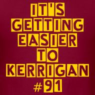 Ryan Kerrigan men's t-shirt. Washington Redskins