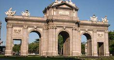 Puerta de Alcalá em Madri #viagem #barcelona #espanha