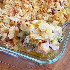 Winner winner chicken dinner! If you love chicken salad you're going to go crazy for HOT CHICKEN SALAD CASSEROLE! It's a mid-century recipe that's a blast from the past and so delicious!  MAKE IT:  bit.ly/2Z5nmHK