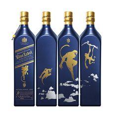 """Johnnie Walker Blue Label, la exclusiva y prestigiosa variante de Johnnie Walker, lanzará en México la edición limitada """"Año del mono"""", entérate en café y cabaret."""
