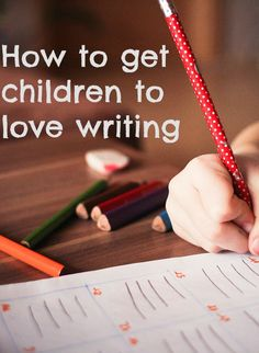 Getting children to love writing from an early age is important, especially with such constrained school timetables. Find out how you can help children discover a passion for writing.