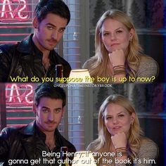 """#OnceUponATime 4x13 """"Darkness on the Edge of Town"""" - Hook and Emma"""