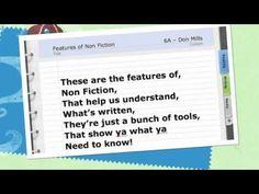 Non Fiction Rap nonfiction text features