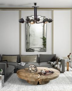 Creating design for a living room you can implement any crazy idea