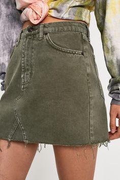 59e023ea2 28 Best Denim mini skirt images in 2016 | Jean skirts, Moda femenina ...