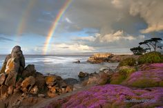 Rainbow at Lovers Point - Pacific Grove California | by Darvin Atkeson
