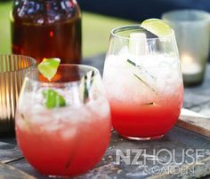 This watermelon cooler is a treat for eyes as well as taste buds on a hot day. Watermelon Cooler, Watermelon Rind, Jam Recipes, Wine Recipes, Sparkling Mineral Water, Yellow Mustard Seeds, Pitted Olives, Chorizo Sausage, How To Cook Potatoes