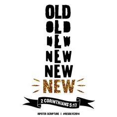Hipster Scripture was my New Year's resolution for 2012. Now, two years later, I am amazed at how much God has grown me through this project.
