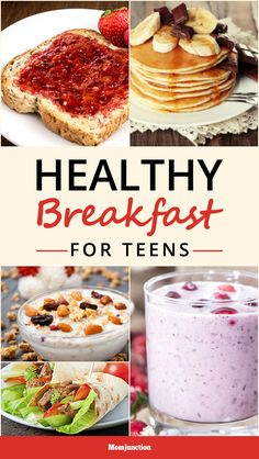 If you're nodding in agonized agreement, we are here to help. Try out these quick, healthy, delicious and easy breakfast ideas that may tempt your teen to eat.
