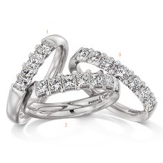 Lovely diamond bands by Christian Bauer Wedding Engagement, Wedding Bands, Engagement Rings, Platinum Wedding, Diamond Bands, Christian, Jewelry, Enagement Rings, Wedding Rings