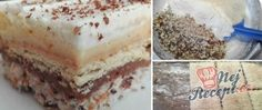 Triple pokušení pro nenáročné mlsouny Cake Bars, Salty Snacks, Hungarian Recipes, Vanilla Cake, Tiramisu, Cheesecake, Cherry, Sweets, Ethnic Recipes