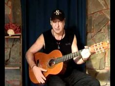 The first step learning Flamenco Guitar