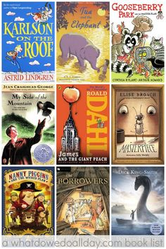 Summer read aloud books the whole family will love.