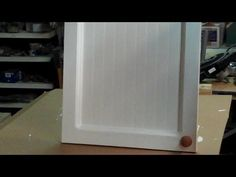 Bathroom Makeover Day 3 U2013 How To Make Cabinet Doors (Without Using Special  Tools) | Carpentry, Doors And Easy