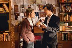 "anything-sherlock: "" My two bois clueing for looks in the Blind Banker [ 2560 x 1707 from here ] "" Sherlock Bbc, Sherlock Season, Sherlock Fandom, Martin Freeman, Benedict Cumberbatch, The Blind Banker, Detective, Elementary My Dear Watson, Benedict And Martin"