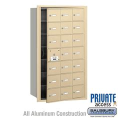 Salsbury Industries Commercial Horizontal Mailbox 21 A Door 20 Usable Front Loading USPS Access Wall Mount Mailbox, Mounted Mailbox, Cluster Mailboxes, Commercial Mailboxes, Post Box Wall Mounted, Security Mailbox, Continuous Hinges, Mail Center, Fine Art Lighting