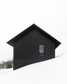 In Ontario Canada - Clearview Chalet by @atelier.kastelicbuffey. Photographed by @shaigilfoto. #architecture #design