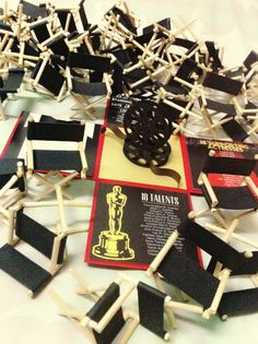 Hollywood exploding box. Customized Handmade DEBUT invitations cards! Only at yourunikxchange.