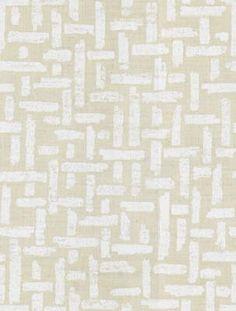 Crisscross in White/Natural from Lee Jofa (@Kravet) #fabric #linen #neutral