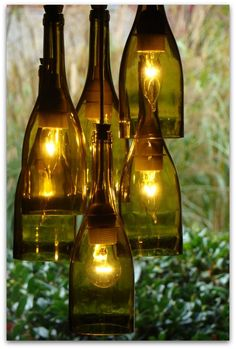 Repurpose your wine bottles