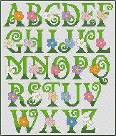Brilliant Cross Stitch Embroidery Tips Ideas. Mesmerizing Cross Stitch Embroidery Tips Ideas. Cross Stitch Letter Patterns, Monogram Cross Stitch, Small Cross Stitch, Cross Stitch Bookmarks, Cross Stitch Cards, Cross Stitch Borders, Cross Stitch Flowers, Cross Stitch Designs, Cross Stitching
