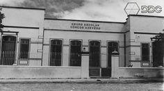 Escola Cônego Azevedo. Década de 50. Acervo: Luiz Costa.