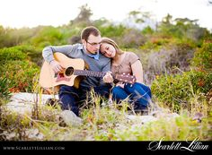Couple photography w/ guitar