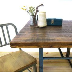 Industrial Kitchen Table Set now featured on Fab.