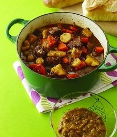 Easy and Quick Comfort Food: Beef Stew with Potatoes, Carrots and Parsnips