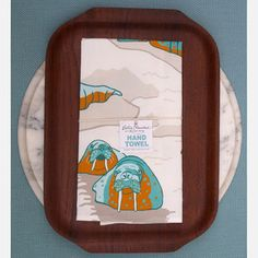 Walrus Hand Towel now featured on Fab.